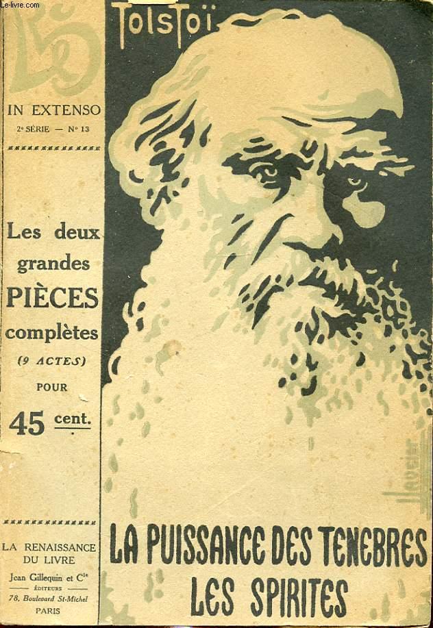 LA PUISSANCE DES TENEBRES - LES SPIRITES: LES DEUX GRANDES PIECES COMPLETES (9 ACTES )