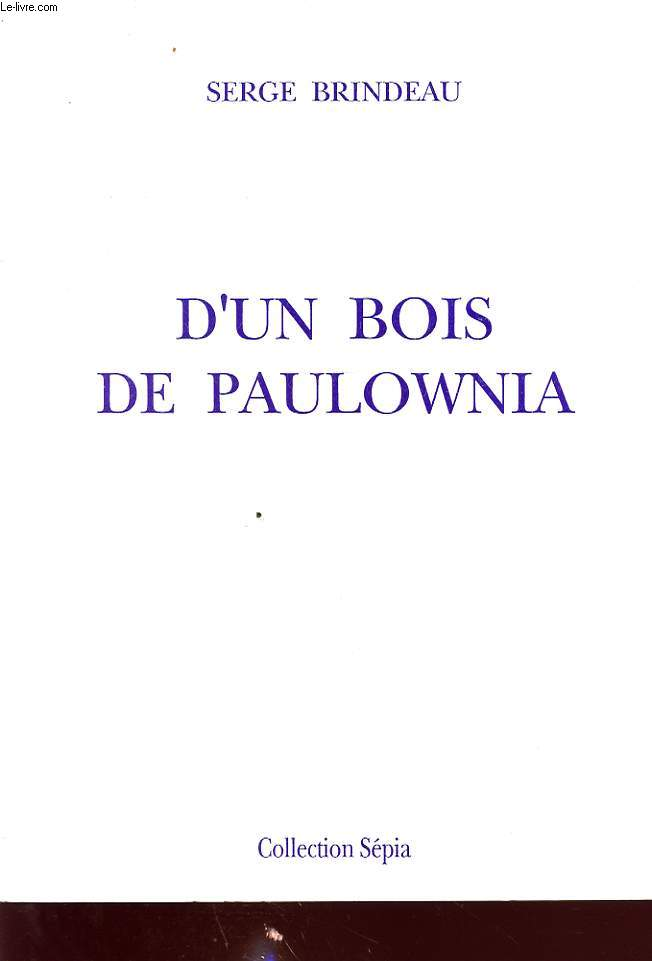 D UN BOIS DE PAULOWNIA