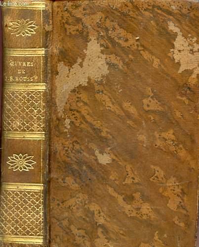 OEUVRES CHOISIES DE J. B. ROUSSEAU A L USAGE DES LYCEES ET DES ECOLES SECONDAIRES Stereotype d'Herhan.