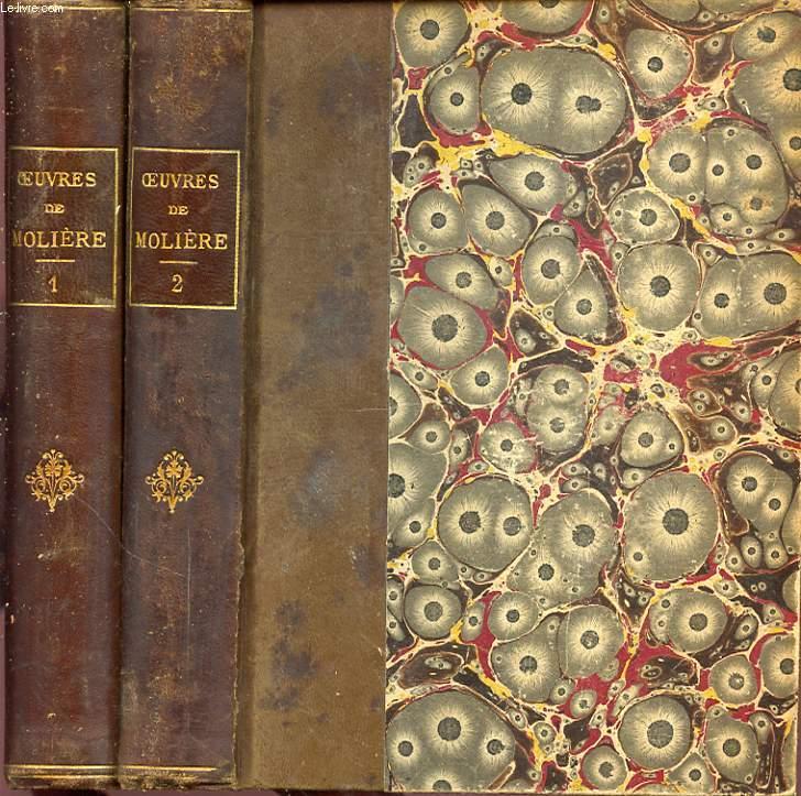 OEUVRES DE MOLIERE D APRES L EDITION DE 1734 EN 2 TOMES