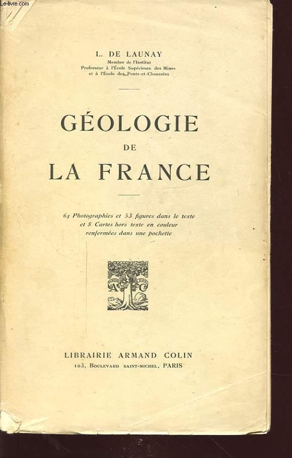 GEOLOGIE DE LA FRANCE