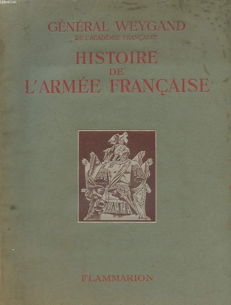 HISTOIRE DE L ARMEE FRANCAISE