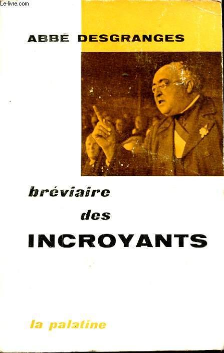 BREVIAIRES DES INCROYANTS