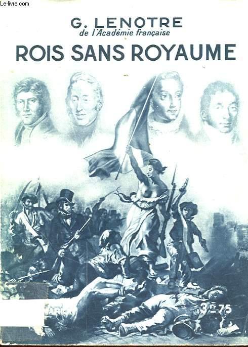 ROIS SANS ROYAUME
