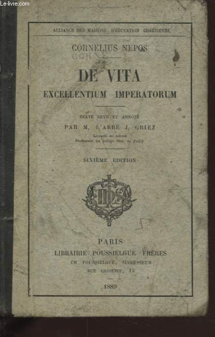 DE VITA EXCELLENTIUM IMPERTORUM