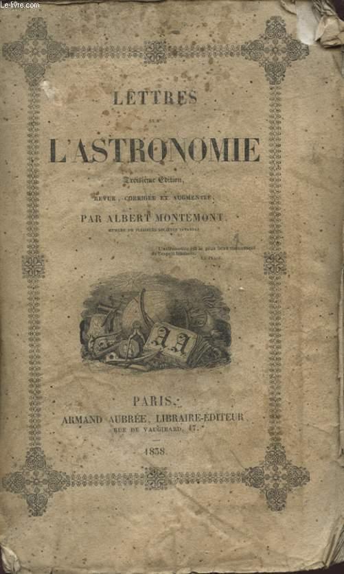 LETTRES SUR L ASTRONOMIE TOME 2
