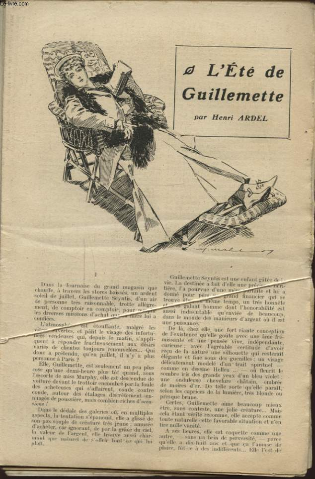 L ETE DE GUILLEMETTE