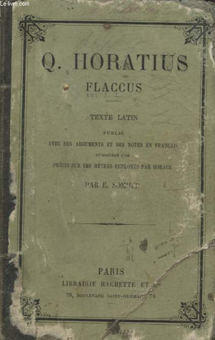 Q. HORACTIUS FLACCUS