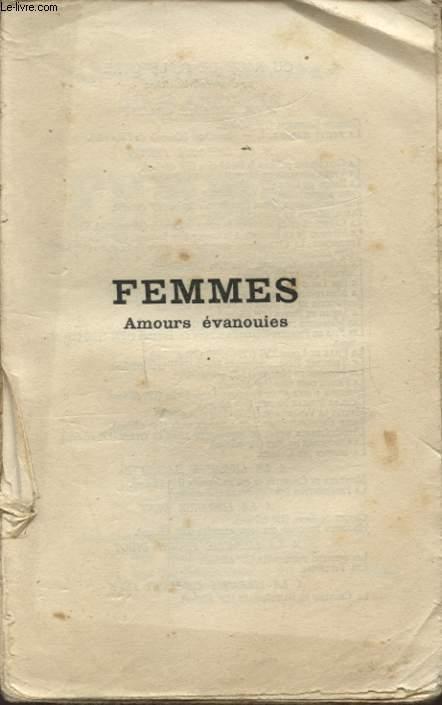 FEMMES AMOURS EVANOUIES
