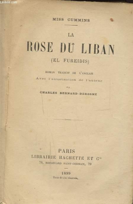 LA ROSE DU LIBAN