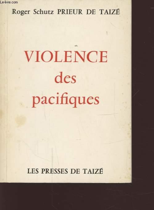VIOLENCE DES PACIFIQUES