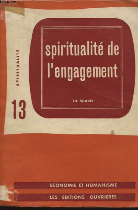 SPIRITUALITE DE L ENGAGEMENT