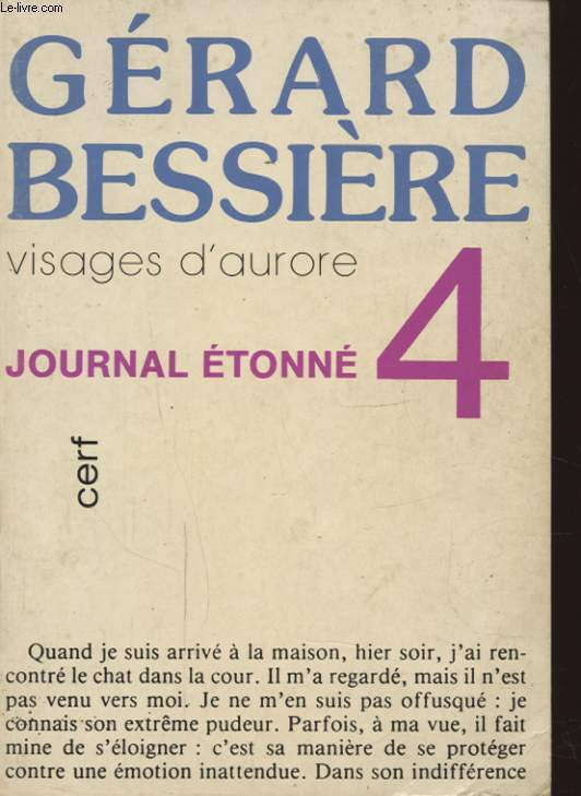 VISAGE D AURORE JOURNAL ETONNE 4