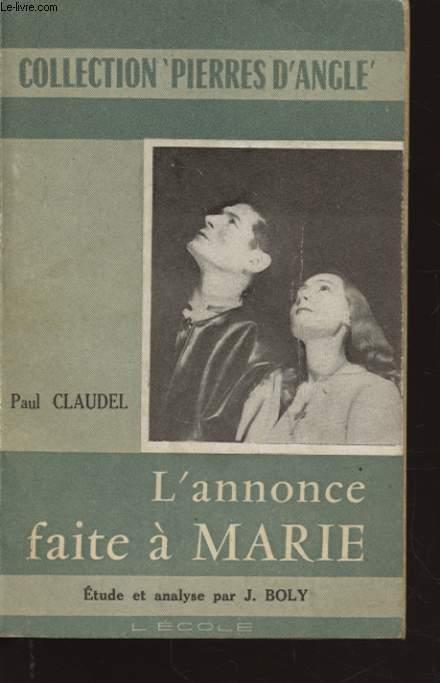 L ANNONCE FAITE A MARIE