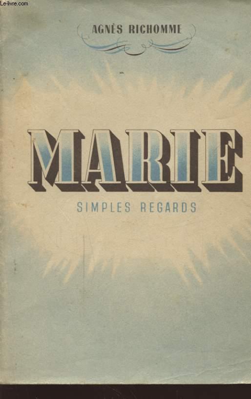 MARIE SIMPLES REGARDS