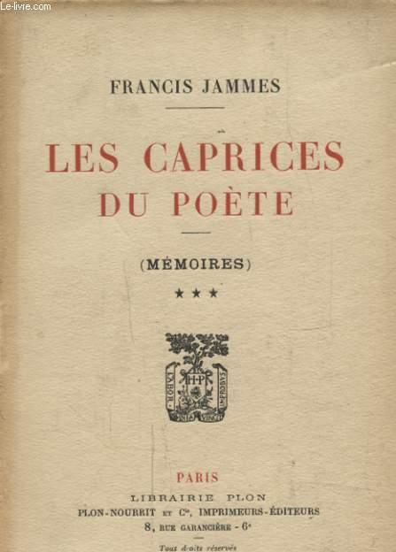 LES CAPRICES DU POETE TOME 3