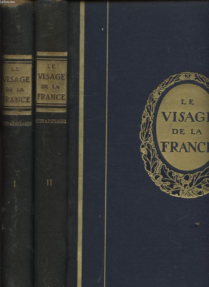 LE VISAGE DE LA FRANCE EN DEUX VOLUMES