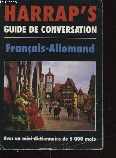 HARRAP S GUIDE DE CONVERSATION FRANCAIS ALLEMAND