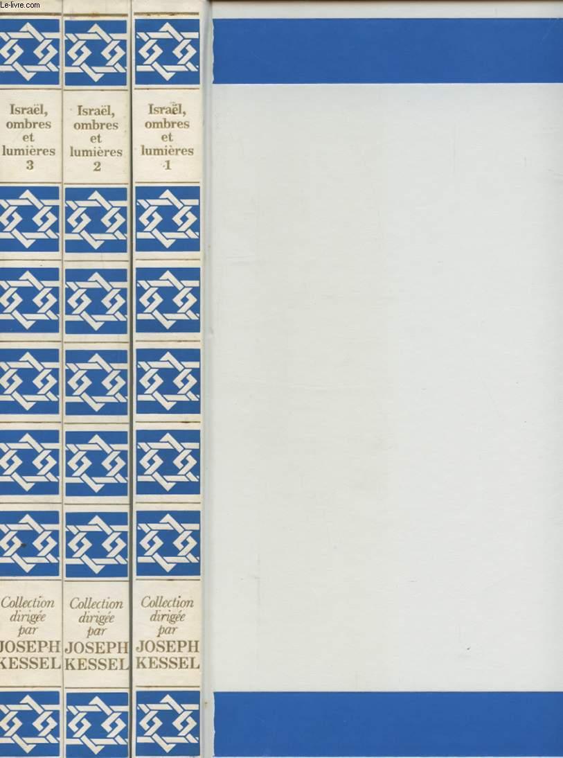 ISRAEL OMBRES ET LUMIERES EN 3 VOLUMES