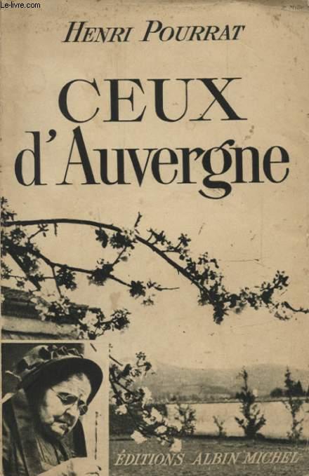 CEUX D AUVERGNE