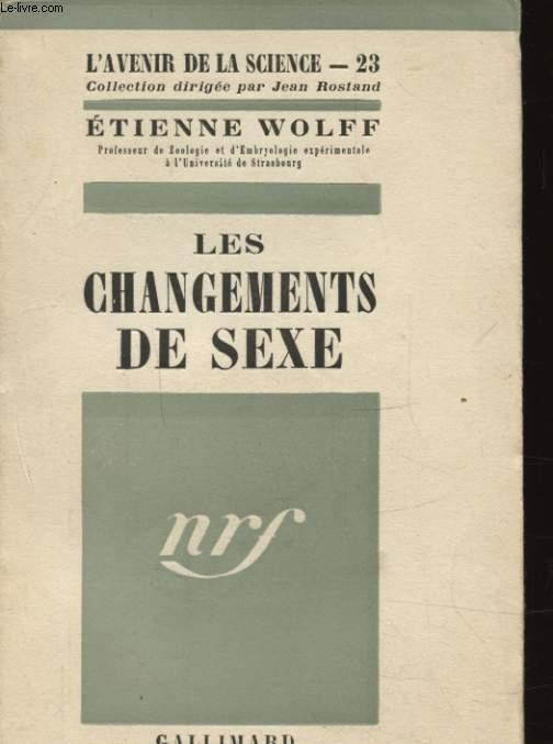 LES CHANGEMENTS DE SEXE
