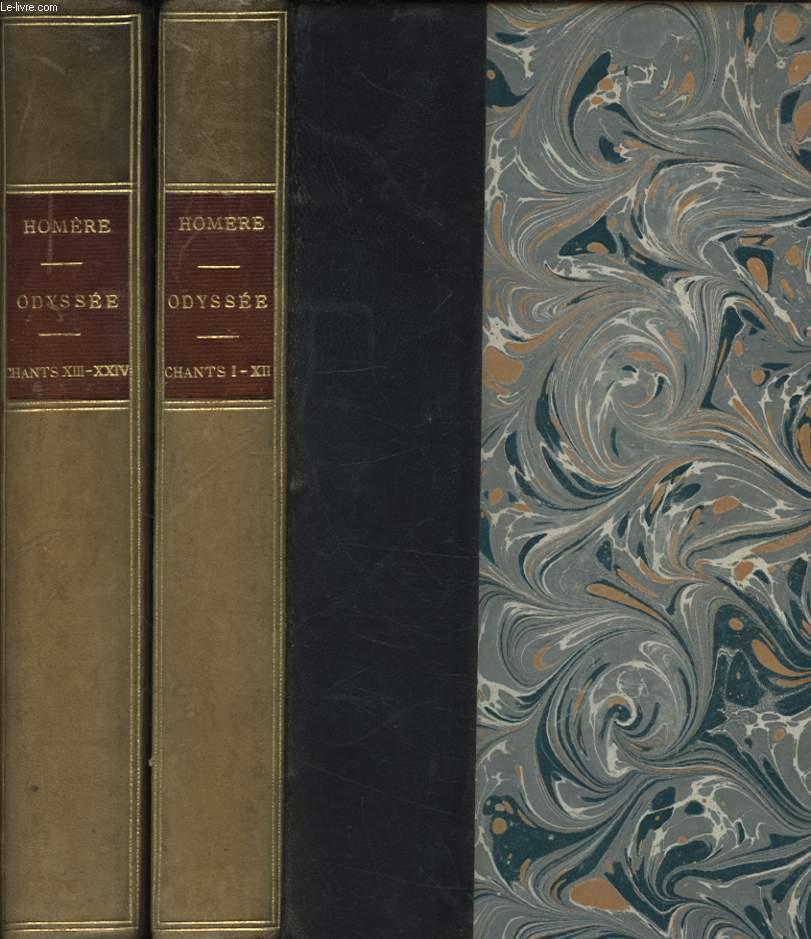 L ODYSSEE D HOMERE EN 2 VOLUMES - CHANT I-XII / CHANT XIII-XXIV