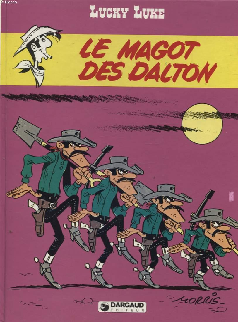 LUCKY LUKE / LE MAGOT DES DALTON