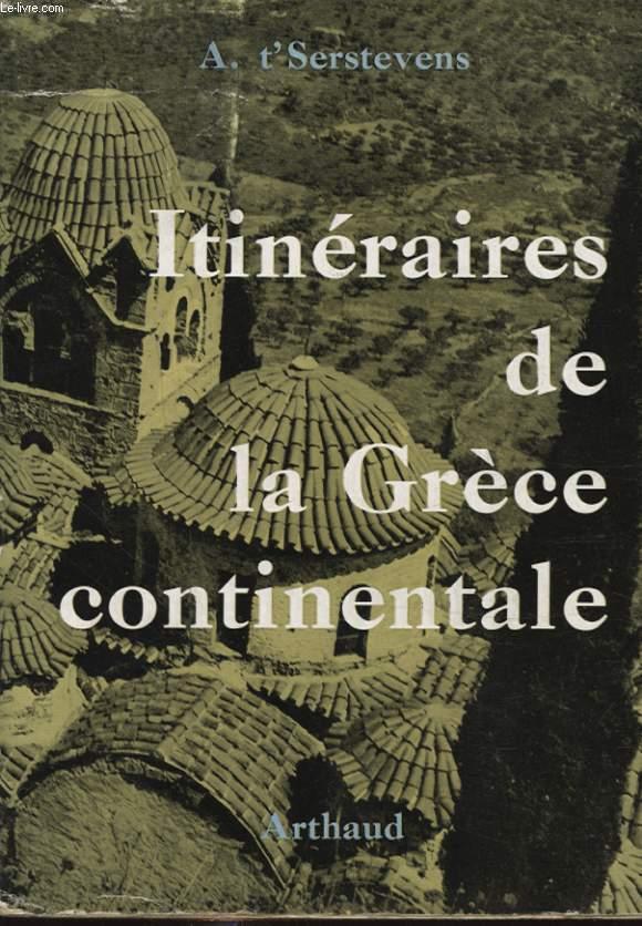 ITINERAIRES DE LA GRECE CONTINENTALE