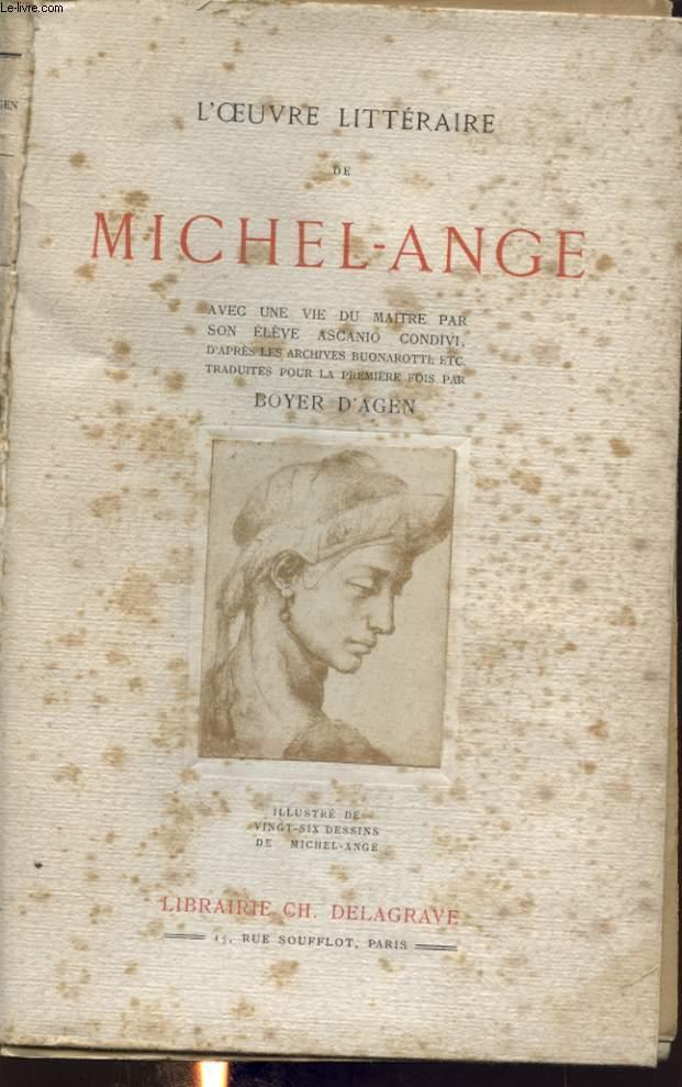 L OEUVRE LITTERAIRE DE MICHEL ANGE