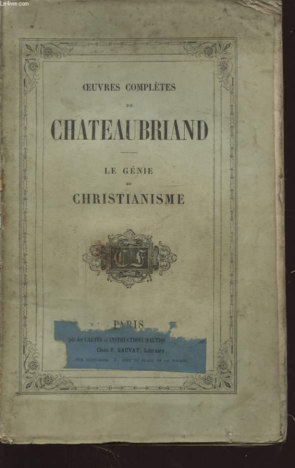 LE GENIE DU CHRISTIANISME TOME II