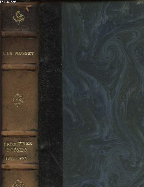 PREMIERES POESIES 1829 - 1835