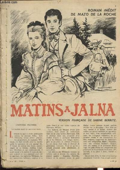 MATINS A JALNA