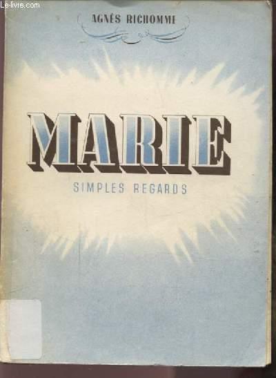 MARIE - SIMPLES REGARDS.