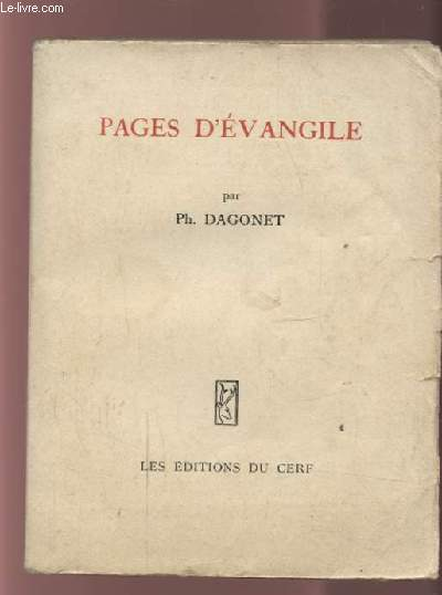 PAGES D'EVANGILE.