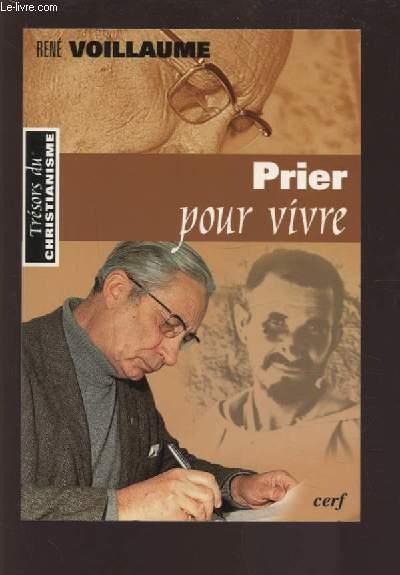 PRIER POUR VIVRE.