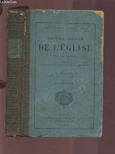 HISTOIRE ABREGEE DE L'EGLISE.