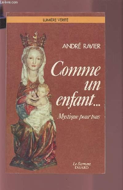 COMME UN ENFANT... - MUSIQUE POUR TOUS.