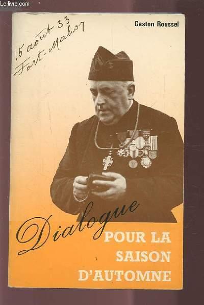 DIALOGUE POUR LA SAISON D'AUTOMNE.