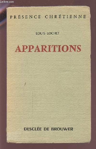 APPARITIONS.
