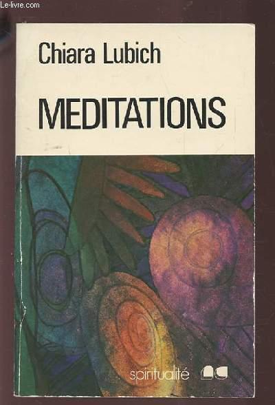 MEDITATIONS.
