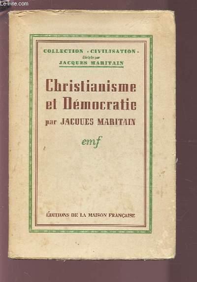 CHRISTIANISME ET DEMOCRATIE.