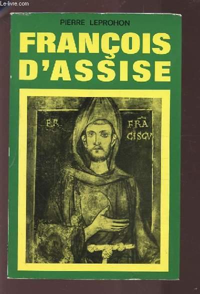 FRANCOIS D'ASSISE.