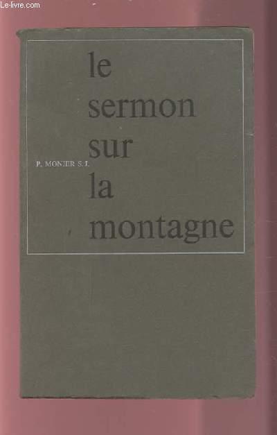 LE SERMON SUR LA MONTAGNE.