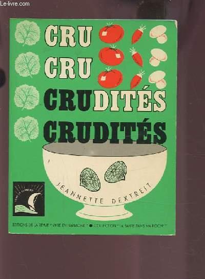 CRUDITES.