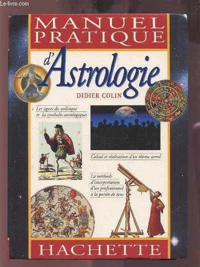 MANUEL PRATIQUE D'ASTROLOGIE.