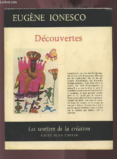 DECOUVERTES - LES SENTIERS DE LA CREATION.