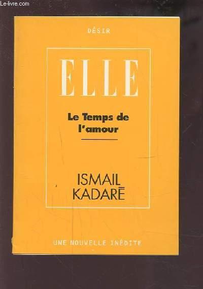 ELLE - LE TEMPS DE L'AMOUR.