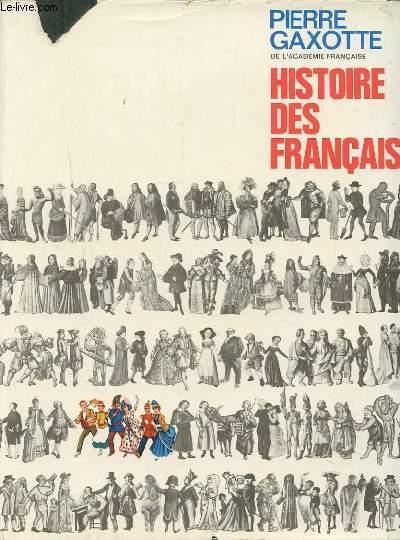 HISTOIRE DES FRANCAIS.