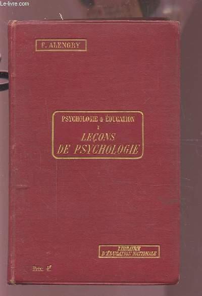 PSYCHOLOGIE & EDUCATION 1 : LECONS DE PSYCHOLOGIE - LECONS - RESUMES - DEVOIRS.