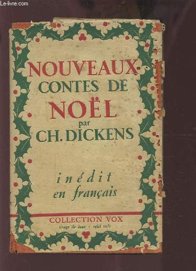 NOUVEAUX CONTES DE NOEL - INEDITS EN FRANCAIS.
